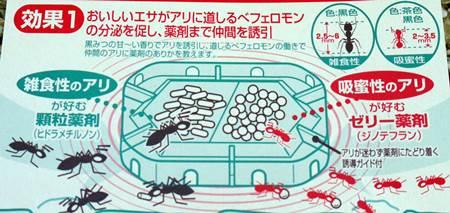 アリの巣コロリコンバットアリメツ比較7