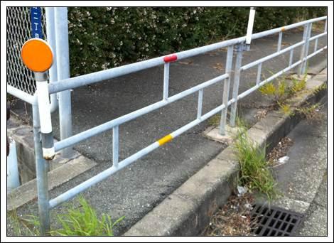 ガードレールと歩道柵強度の違い2